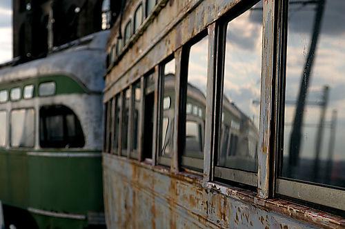 Trolley-reflection
