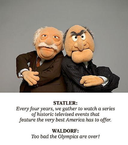 { Dashus:land }: Waldorf and Statler