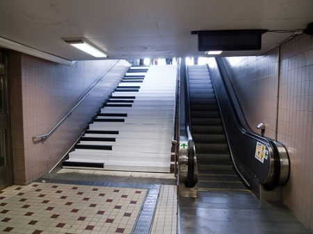 Pianostairs