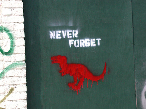 Never Forget Dinosaurs (by 3 Ducks)%0A