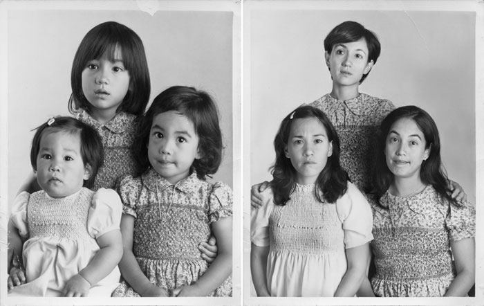 FLO, MARIA & DOLORES IN 1979 & 201