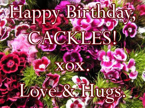 Cackles birthday 2012