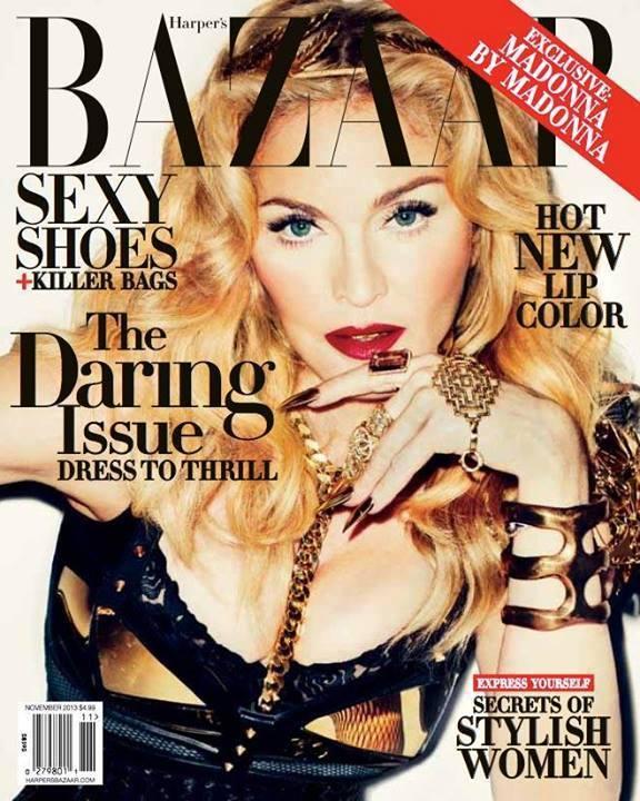 Madonna-harpers-bazaar-november